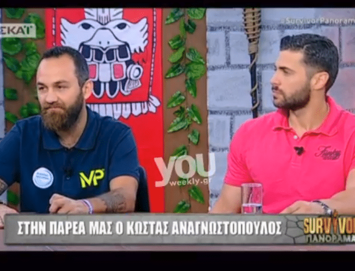 Survivor Panorama: O Κώστας Αναγνωστόπουλος πετάει τα