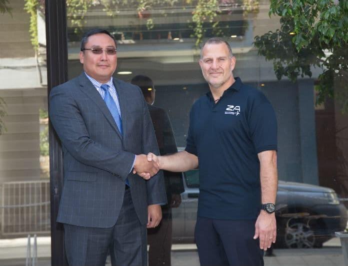 Συνάντηση του Ανδρέα Χριστοδουλίδη και του προέδρου της MIAT στην Κύπρο