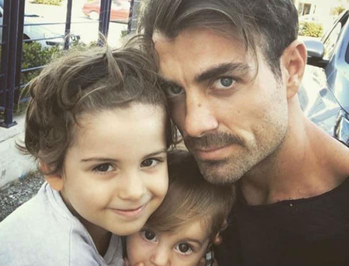 Στέλιος Χανταμπάκης: To «απειλητικό» μήνυμα για τους μέλλοντες  μνηστήρες της κόρη του! Ξετρελάθηκε όλο το διαδίκτυο!