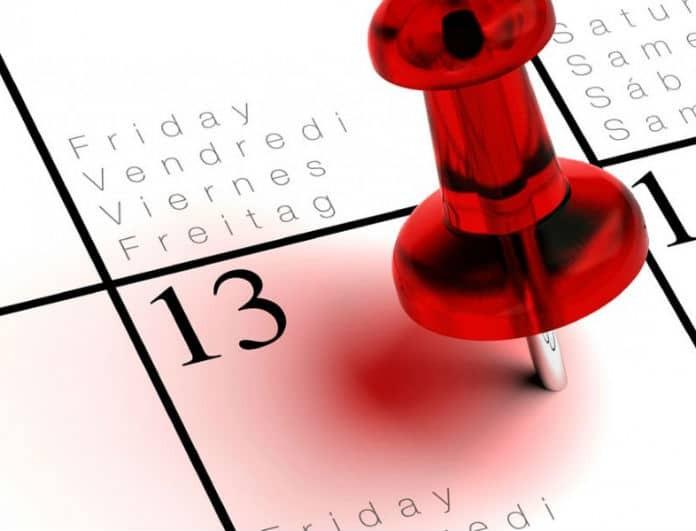 Παρασκευή και 13 σήμερα: Γιατί θεωρείται γρουσούζικη ημέρα;