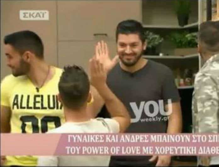 Power of Love: Η έκπληξη της Άννας που άφησε άφωνο τον Παναγιώτη! Το μπλουζάκι και το μήνυμα όλο νόημα! (Βίντεο)
