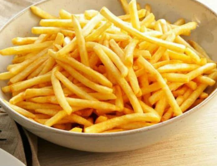 Αλλάζουν όλα στις τηγανητές πατάτες -και όχι μόνο- σε εστιατόρια και fast food!