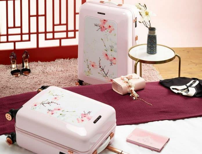 Έτοιμη για τις Πασχαλινές διακοπές σου; Αυτές είναι οι stylish βαλίτσες από τον Ted Baker που αγαπήσαμε!