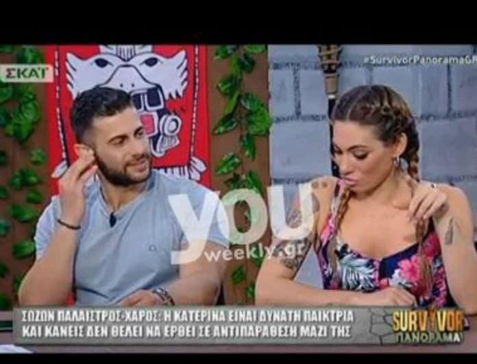 Survivor Panorama: Η επική ατάκα του Βασάλου για την κόντρα Χάρου- Σαλτάφερίδου! «Όταν έτρωγε...»(Βίντεο)