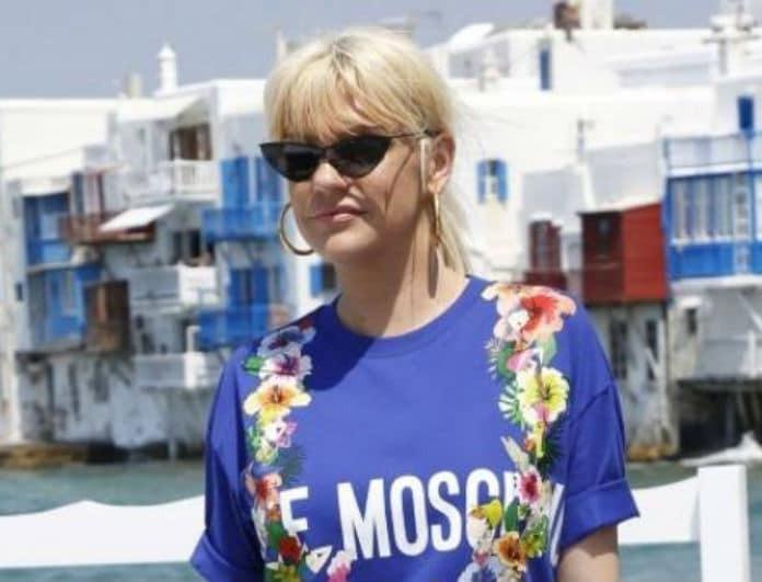 Σάσα Σταμάτη: Το αέρινο look που μας εντυπωσίασε! Ιδανικό για τις βόλτες στο νησί...