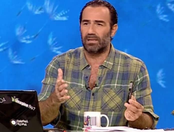 Άστραψε και βρόντηξε ο Αντώνης Κανάκης: «Με έχει ενοχλήσει τόσο πολύ! Θέλω να πάω και να αρπαχτώ στα χέρια με αυτούς τους ανθρώπους»!