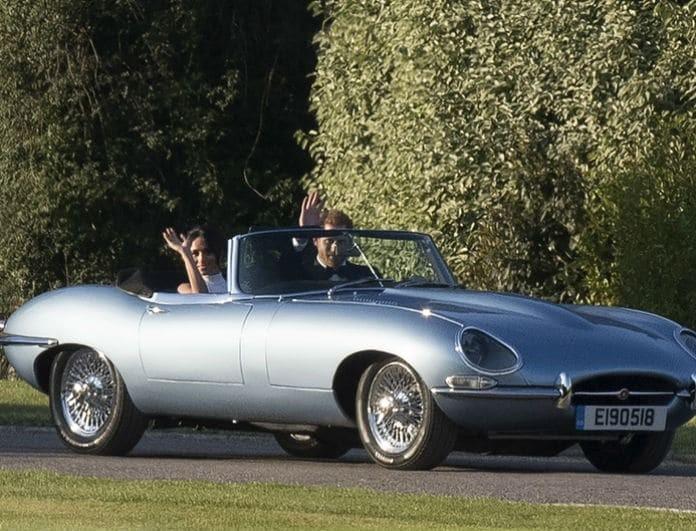Βασιλικός γάμος: Η τραγική ιστορία της Jaguar με την οποία πήγαν Χάρι και Μέγκαν στο γαμήλιο πάρτι! (Βίντεο)