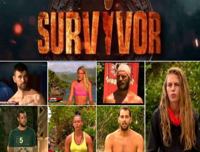 Survivor - ψηφοφορία: Ποιος παίκτης θέλετε να αποχωρήσει;