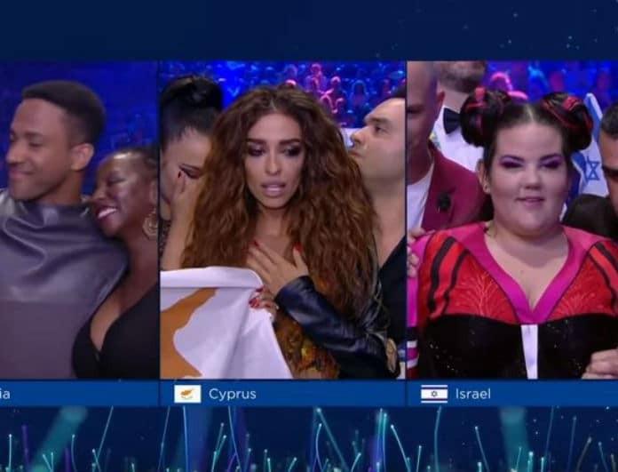 Eurovision 2018: Θρίλερ η ώρα της ψηφοφορίας! Έκλαιγε ασταμάτητα η Ελένη Φουρέιρα! (Βίντεο)
