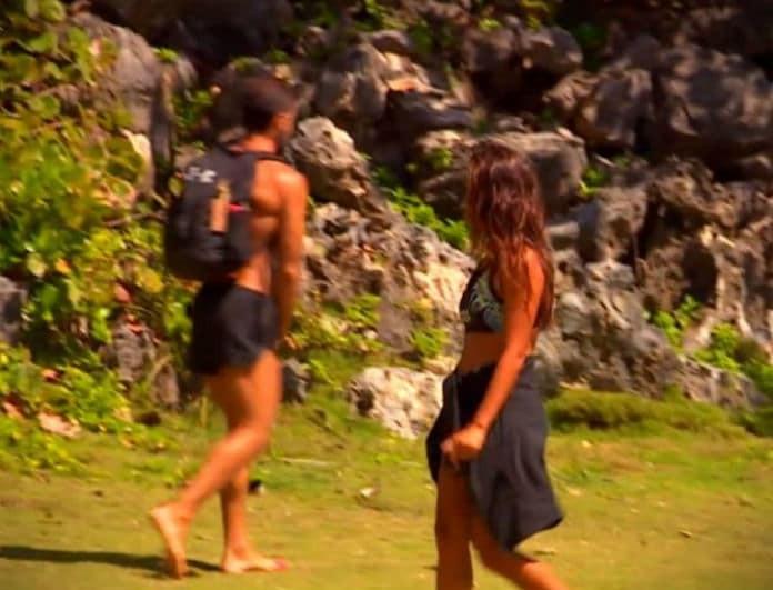 Survivor 2: Χαμός στο σημερινό επεισόδιο! Ο Χάρος πιάνει τα @@@@ του μπροστά στην Εύη! (Βίντεο)