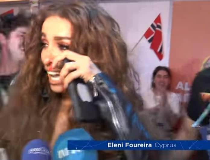 Eurovision 2018: Οι πρώτες δηλώσεις της Φουρέιρα με δάκρυα στα μάτια: