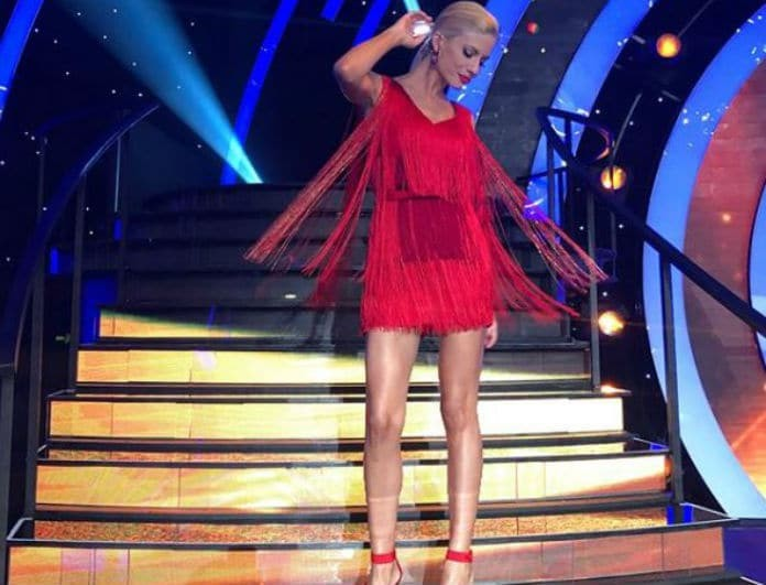 DWTS - Τελικός: Το φόρεμα της Ευαγγελίας Αραβανή που έκλεψε την παράσταση!