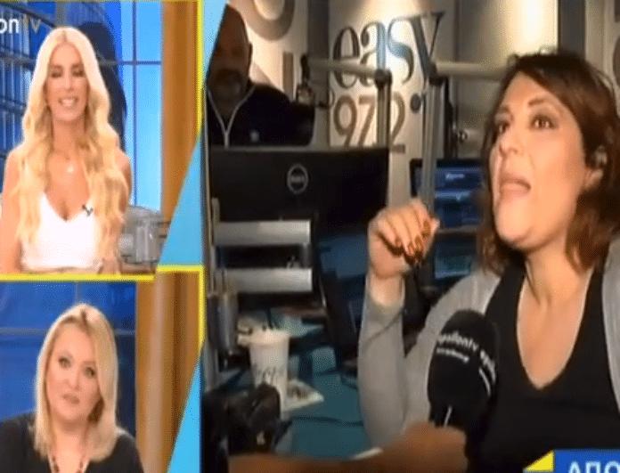 Ο διάλογος της Ζαρίφη με την Μενεγάκη λίγο πριν ξεκινήσει η εκπομπής της  στο Ε! - NEWS - YOU WEEKLY 89eb2644435