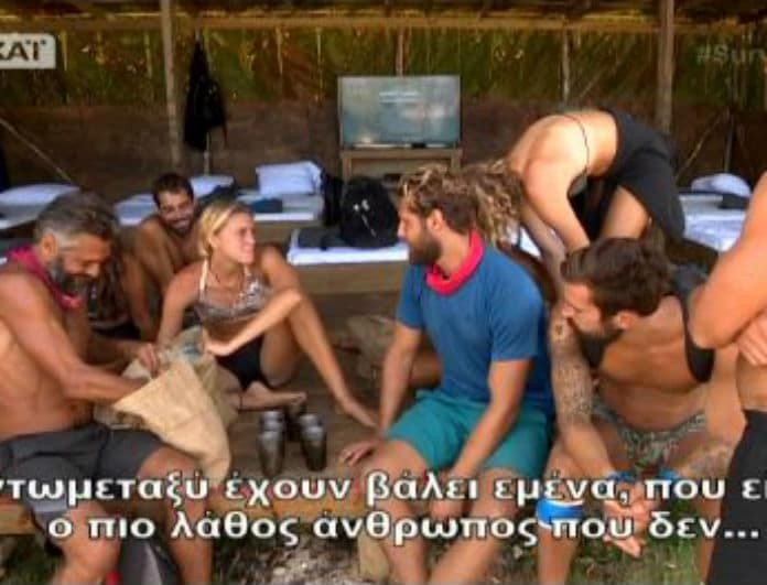 Survivor 2: Μπουρδουκλώθηκαν για τα καλά! Η μοιρασιά τους έκαψε τον εγκέφαλο! Τρελό γέλιο.... (βίντεο)