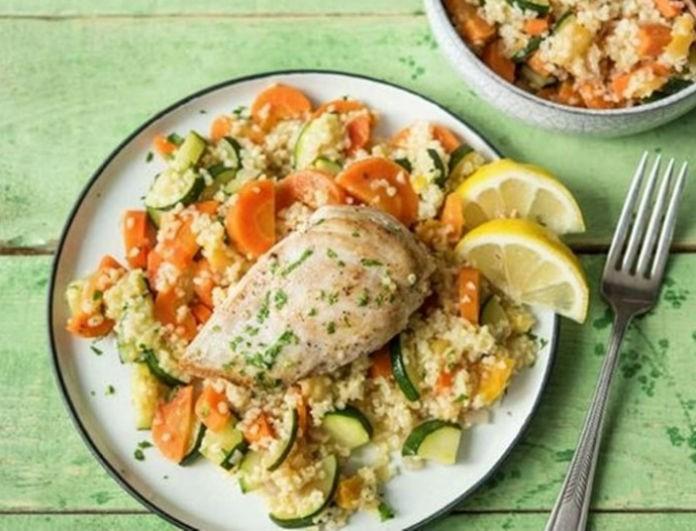 Η συνταγή της ημέρας: Φανταστικό κοτόπουλο λεμονάτο με πράσινες ελιές!
