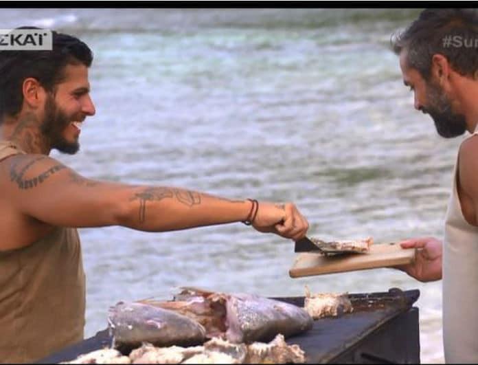 Survivor 2: Η καρακατακαψούρα, το ψάρι που... ψήνεται και από τις δυο πλευρές και οι Θεσσαλονικείς survivors! - Τρελό γλέντι στο twitter!