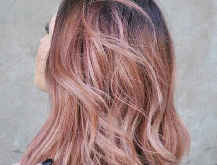 Golden Rose: Το απόλυτο χρώμα μαλλιών για το φετινό καλοκαίρι! Σε ποιους τύπου δέρματος ταιριάζει;