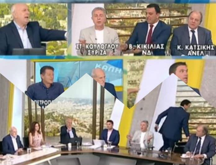 Έξαλλος ο Βασίλης Κικίλιας! Πέταξε το μικρόφωνο κι έφυγε από την εκπομπή! Όπως δεν τον έχουμε ξαναδεί! (Βίντεο)