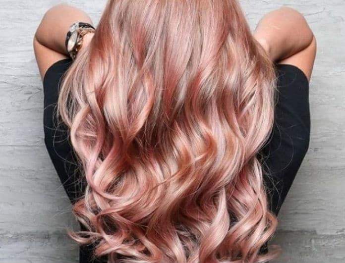 Golden Rose: Το απόλυτο χρώμα μαλλιών για το φετινό καλοκαίρι!