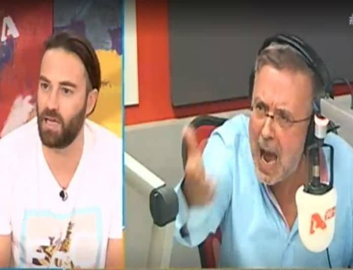 Έξαλλος ο Δήμος Βερύκιος με τον Κώστα Φραγκολιά on air: