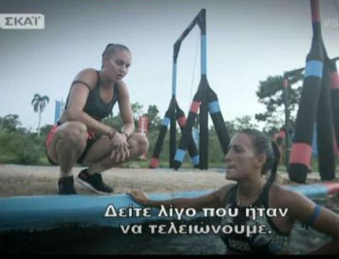 """Survivor 2: Εχθροί! Έβγαλαν τα... μαχαίρια οι πρώην κολλητές Εύη-Κατερίνα! - """"Αν το κάνει εσκεμμένα...""""  (βίντεο)"""