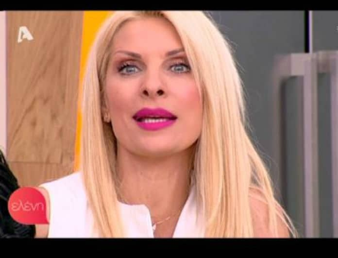 «Μανουλίτσα μου που είσαι!» Η δημόσια έκκληση της Ελένης Μενεγάκη! (Βίντεο)