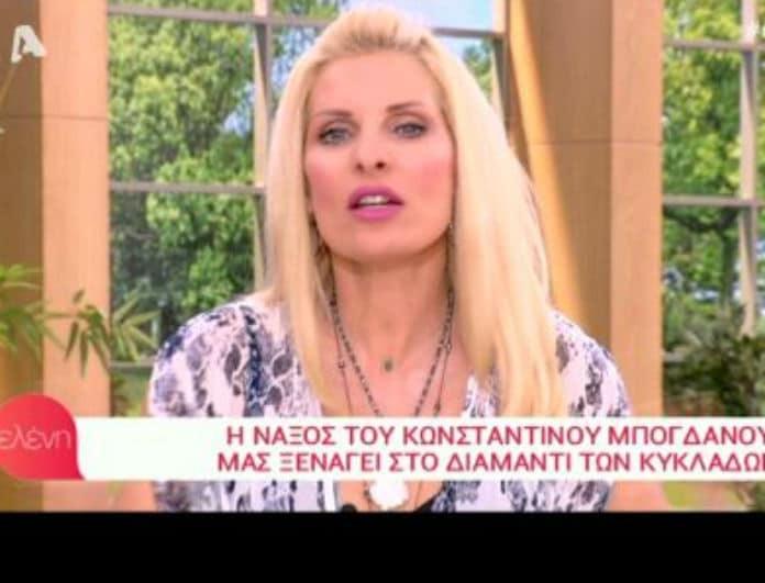 Το καρφί της Μενεγάκη για τη κυτταρίτιδα της και η αφοπλιστική ατάκα! (Βίντεο)