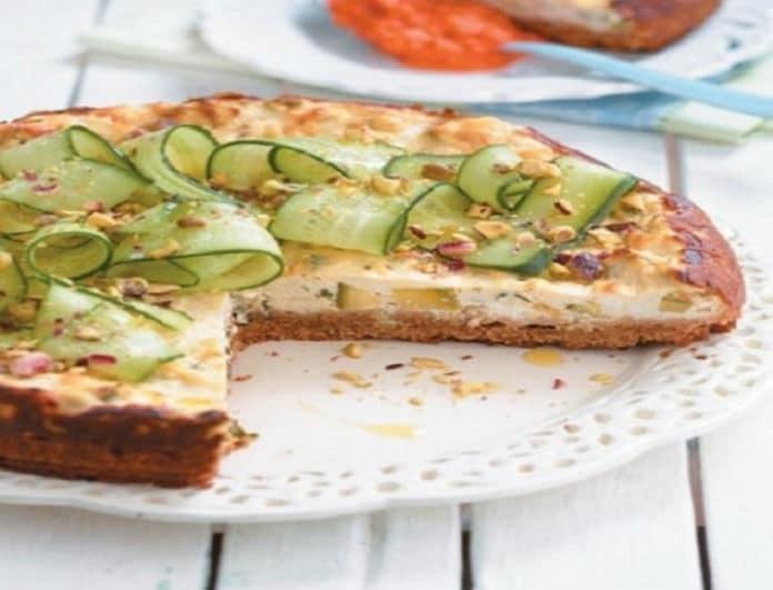 Μία υπέροχη καλοκαιρινή συνταγή: Αλμυρό cheesecake με φιστίκια Αιγίνης και μαρμελάδα πιπεριάς!