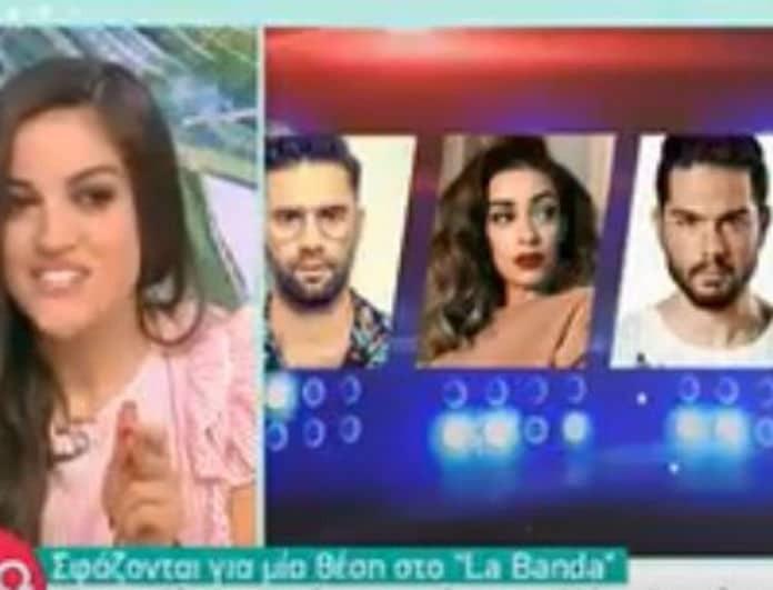 Χαμός με το La Banda! Η παρουσιάστρια που παίρνει την θέση της Ευαγγελίας Αραβανή! (Βίντεο)