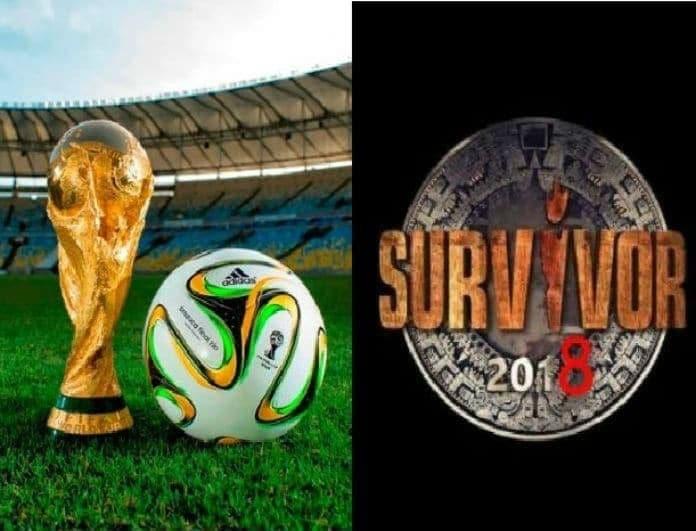 Prime Time: Άνοδος ξανά για το Survivor! Τι νούμερα σημείωσε το Μουντιάλ, το Πάμε Πακέτο και το Game Of Love..