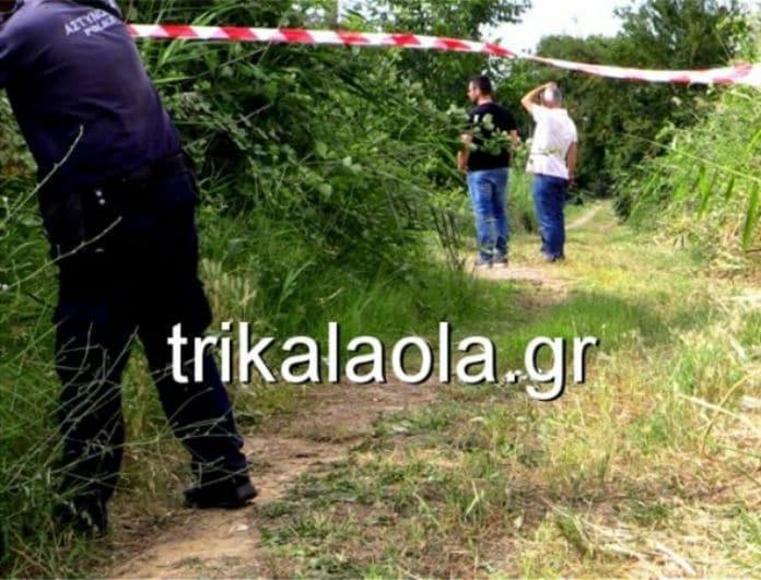 Θρίλερ με πτώμα στα Τρίκαλα! (photos+video)