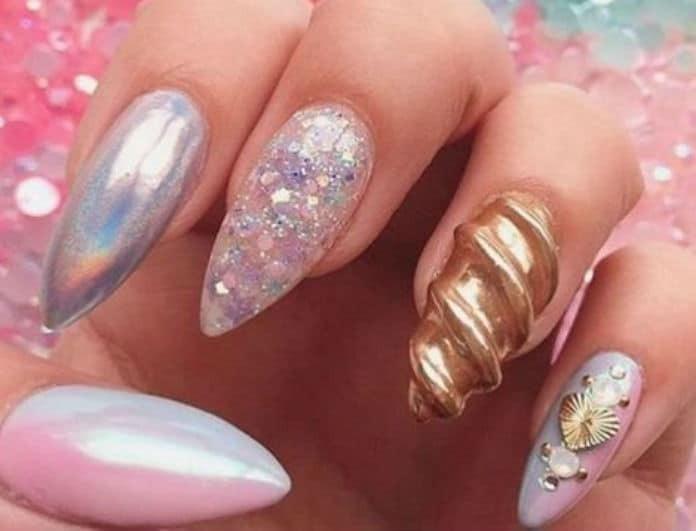 Unicorn nails: Η απόχρωση του καλοκαιριού για να κάνεις ένα διαφορετικό μανικιούρ!