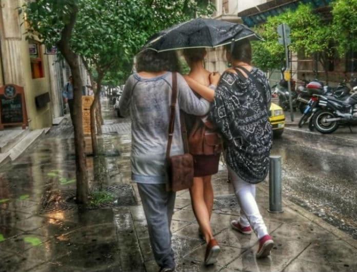 Με βροχές και καταιγίδες ξεκινά η εβδομάδα! Σε ποιες περιοχές θα βρέξει;