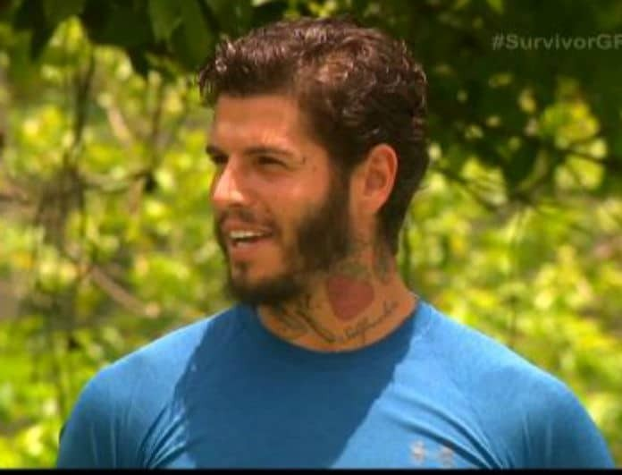 Survivor 2: Μυστήριο με την μπλούζα του Αγόρου! Τι αποκάλυψε ο παίκτης... (βίντεο)
