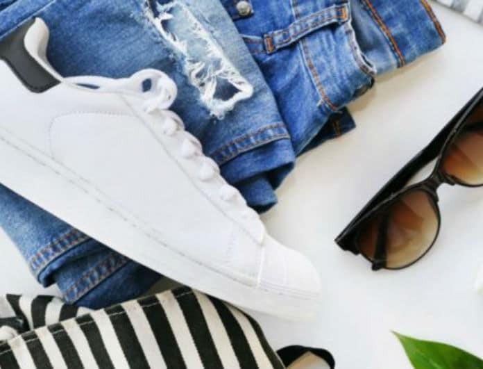 2+1 tips για να καθαρίσεις τις λευκές σόλες των παπουτσιών σου!