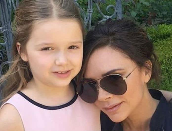 Κλασσική «χαζομαμά» η Victoria Beckham! Τα παιχνίδια με την κόρη της και τα