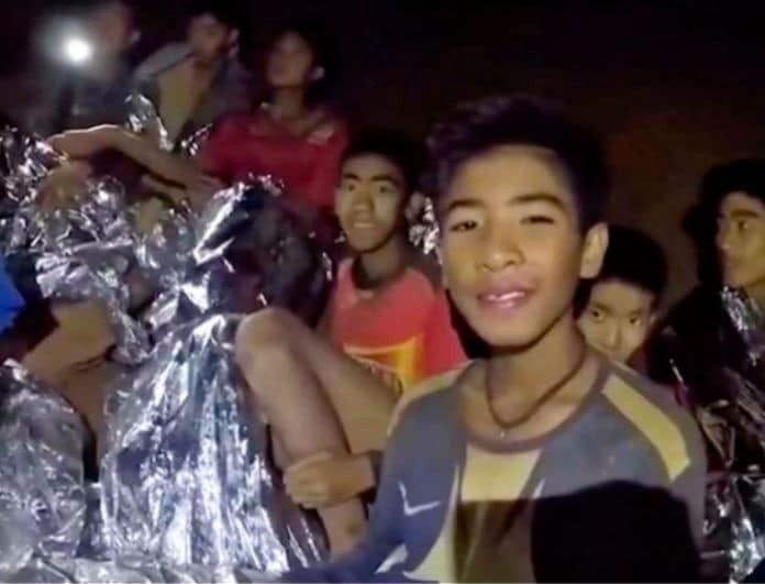 Ταϊλάνδη: Οι διασώστες βρήκαν τα 12 αγόρια επειδή τα... μύρισαν!