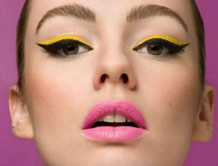 Κίτρινο eyeliner: Το νέο trend που θα ακολουθήσουμε όλες αυτό το καλοκαίρι!