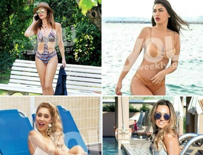 Αυτά είναι τα μαγιό που φοράνε 10 Ελληνίδες celebrities! Το youweekly.gr τα βρήκε για σας...