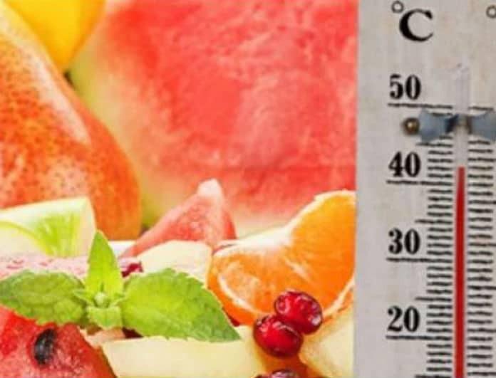 SOS! Ο καύσωνας μπορεί προκαλέσει δηλητηρίαση! Ποιες τροφές πρέπει να προσέχετε...