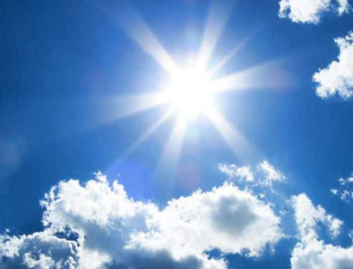 Αίθριος ο καιρός! Άνοδος της θερμοκρασίας σήμερα...