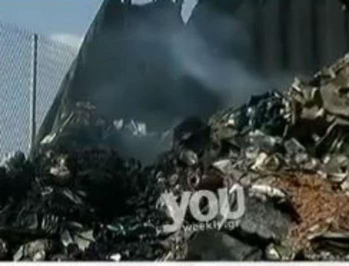 Δύσκολη η κατάσβεση της φωτιάς στο πλοίο Ελ. Βενιζέλος! (βίντεο)