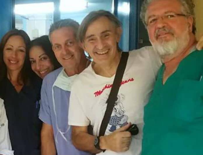Άκης Σακελλαρίου: Νέες φωτογραφίες από το νοσοκομείο! Η ανάρτηση που συγκλόνισε!