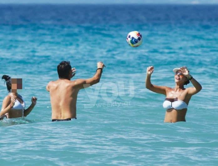 Ιωάννα Λίλη: Μια ανάσα πριν την εκπομπή της! Οι βουτιές στην θάλασσα και τα παιχνίδια με την οικογένεια της!