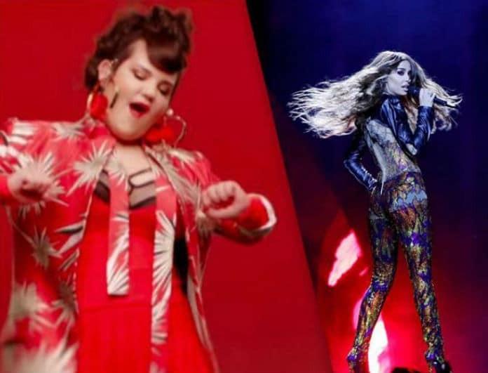 Και όμως έγινε η ανατροπή στη Eurovision 2018! Πως η Φουρέιρα κέρδισε τη Netta!