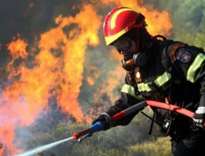 Μεγάλη φωτιά στα Χανιά! Συναγερμός στη πυροσβεστική!