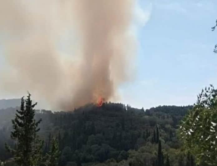 Φωτιά στην Κέρκυρα! Εκκενώθηκε χωριό!