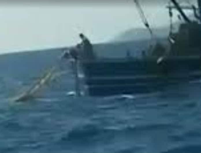 Λέρος: Βίντεο ντοκουμέντο από τους πυροβολισμους των Τούρκων κατά Ελλήνων ψαράδων!