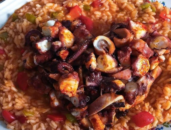 Η συνταγή της ημέρας: Κριθαράκι με χταπόδι κοκκινιστό από τον Ηλία Μαμαλάκη!