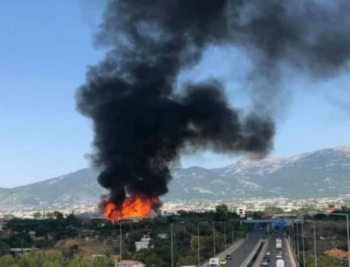 Συναγερμός στη Θεσσαλονίκη! Φωτιά σε αυτοκίνητο στον Εύοσμο τα ξημερώματα!